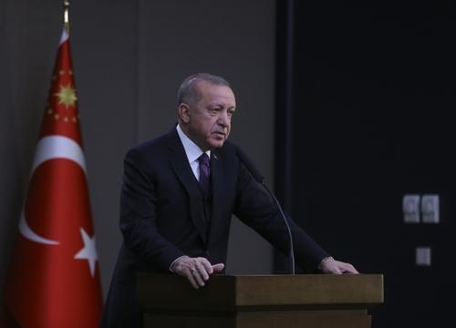 """에르도안 """"리비아에서 터키군 2명 사망"""""""