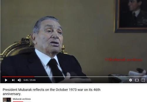 '30년 독재자' 무바라크 이집트 전 대통령 91세로 사망