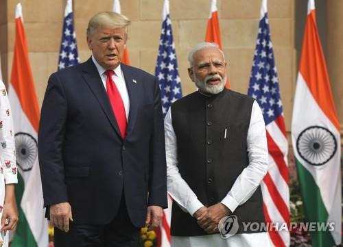 印·美, 국방·에너지 협력 강화 합의…트럼프, 무기세일즈 성공
