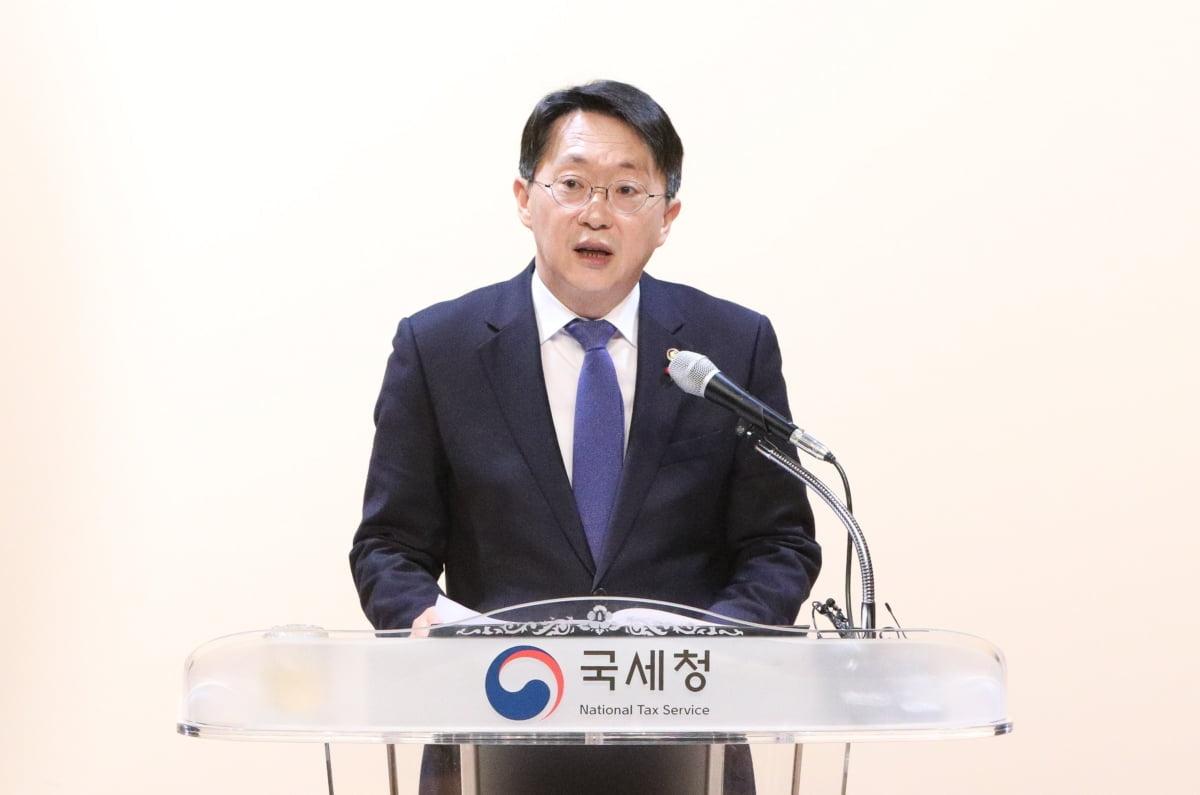 """김현준 국세청장 """"마스크 제조·유통업체 긴급 점검"""" 지시"""