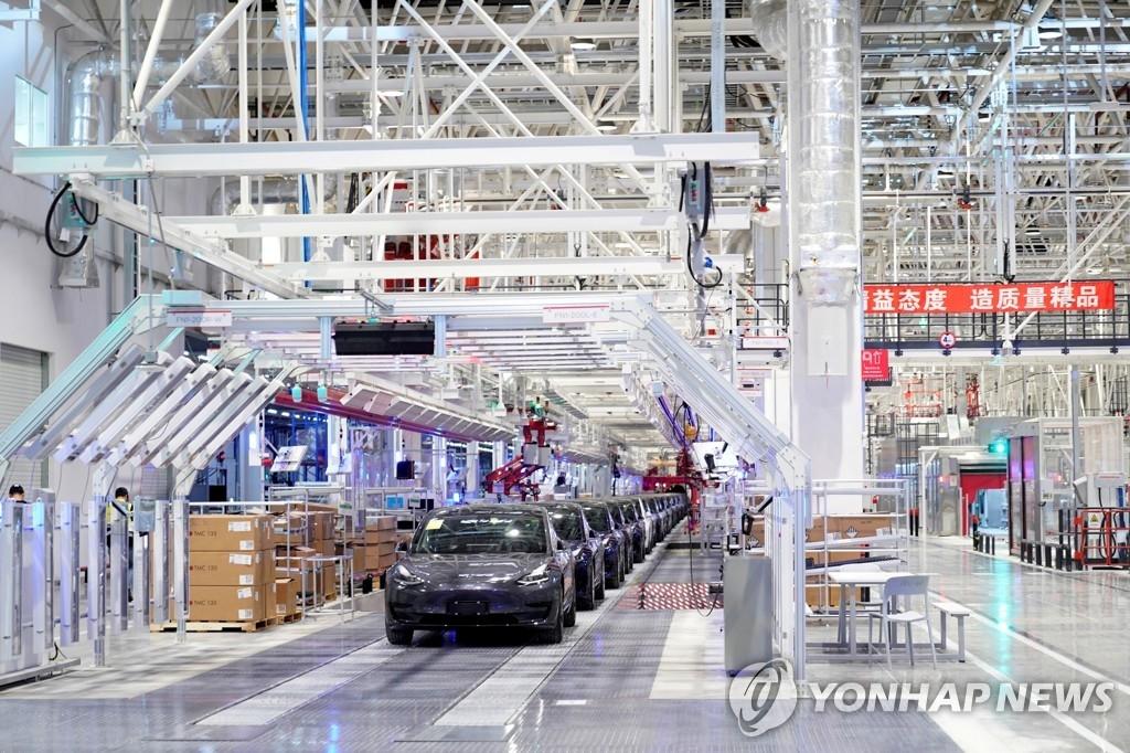 한 고비 넘긴 테슬라, 상하이 공장 10일 재가동