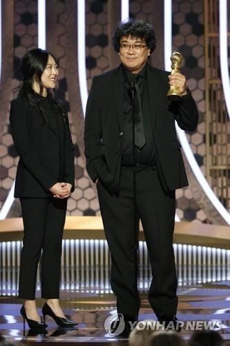 """봉준호 입담까지 통역한 `샤론 최`…""""언어의 아바타"""""""