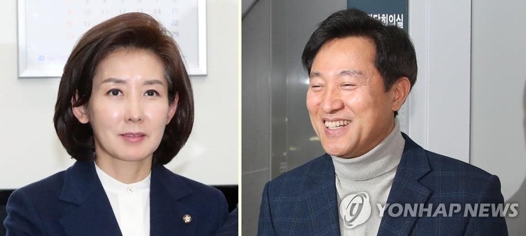 한국당, 나경원·오세훈 공천 확정…청년·여성 등 경선 가산점