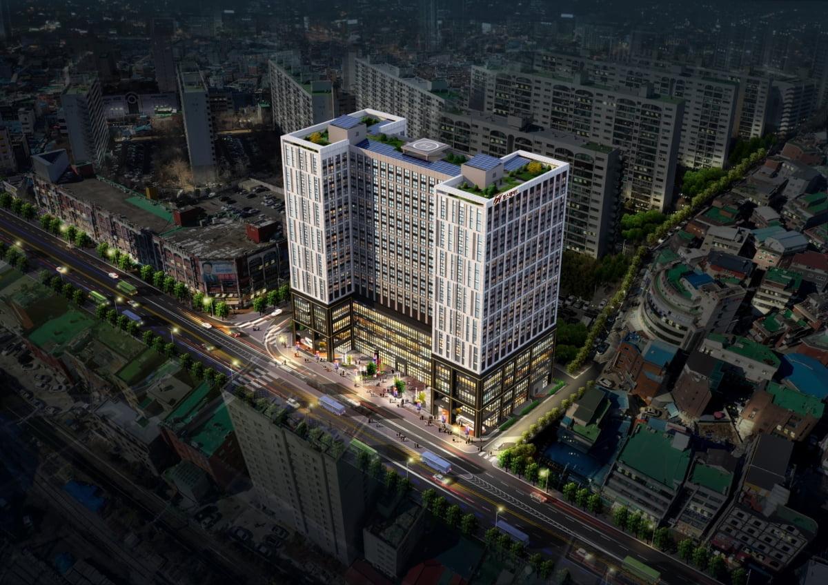 현대건설 `힐스테이트 청량리역` 오피스텔·상업시설 3월 분양
