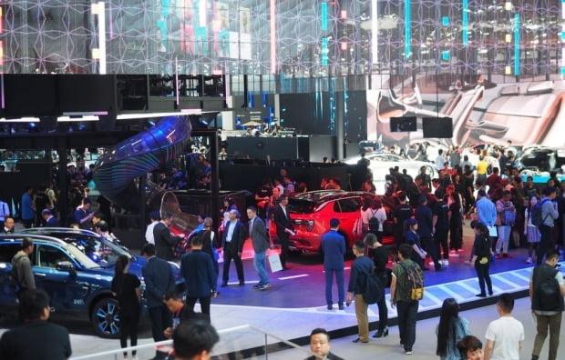 2018년 베이징 모터쇼 모습. 사진=오토타임즈