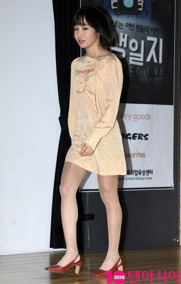 [TEN 포토] 메이제이 리(이지현) '연기도전 첫 발'