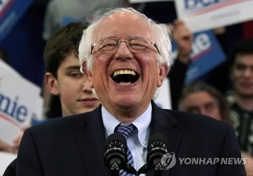 """[뉴햄프셔 경선] 민주당 1위 샌더스 """"이 승리는 트럼프를 끝내는 시작"""""""