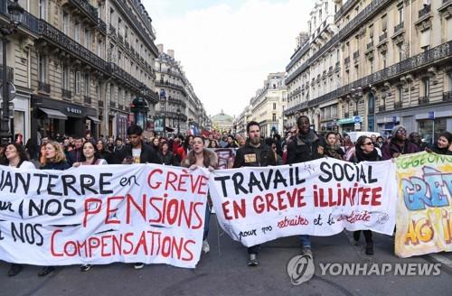 프랑스 연금개편안, 노동계 반발 속 의회심의 개시