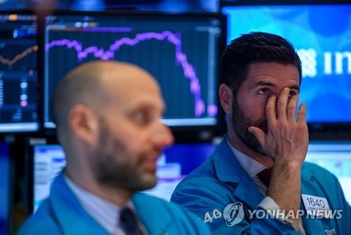 세계증시 '블랙 위크'…코로나19에 금융위기 이후 '최악의 한주'