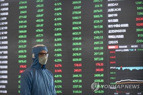 중국 증시 급락에도 아시아 증시는 등락 엇갈려