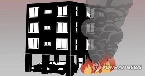 연기 자욱한 화재 현장 뛰어들어 장애 남성 구해낸 주민들