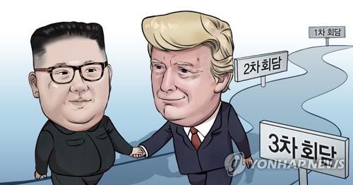 """""""트럼프, 11월 대선 전 김정은과 3차정상회담 원치 않는다 말해"""""""