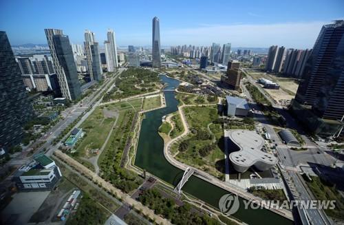 """인천경제청, 도시경관 우수사례 배운다…""""설계공모 검토"""""""
