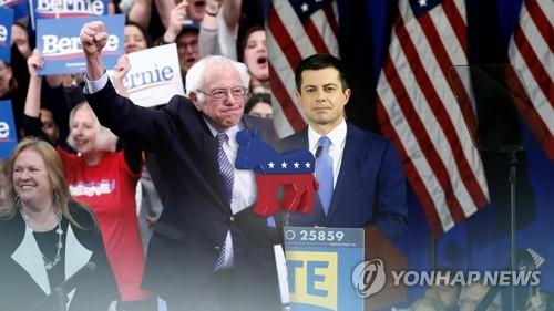 """미 민주 후보들, '급부상' 블룸버그 협공…""""차별의혹 답변해야"""""""
