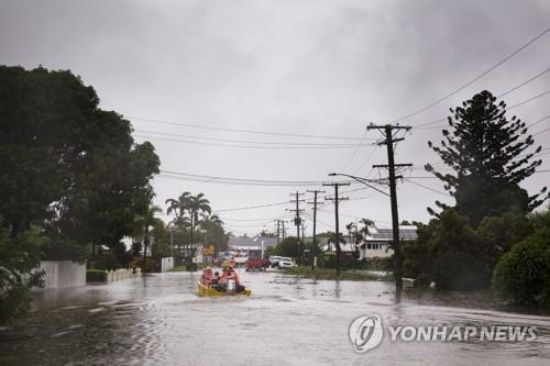 호주서 폭우 뒤 댐 붕괴 위험에 주민 대피령
