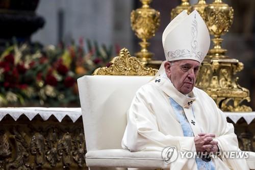 교황, 사제독신제 유지키로…기혼남성에 사제품 주는 안 불승인(종합)