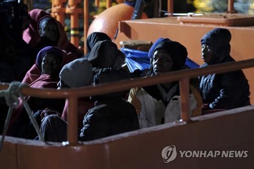 스페인, 지중해서 아프리카 난민 119명 구조