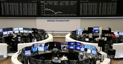[유럽증시] 독일 지표 부진, 신종코로나 주시 속 하락