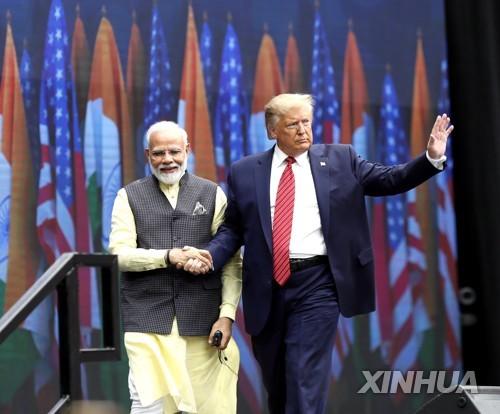취임 후 첫 인도 방문하는 트럼프…대중 견제 속 밀월 과시