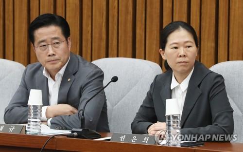 국민당 창준위 부위원장 권은희·집행위원장 이태규