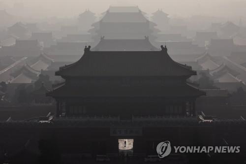 신종코로나 비상 걸린 베이징에 미세먼지까지 덮쳐