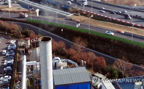 제주 환경오염물질 배출시설 점검…미세먼지 발생 조사