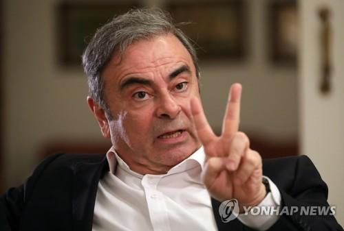 닛산, 곤 前 회장에 1천억원대 손해배상 소송 제기