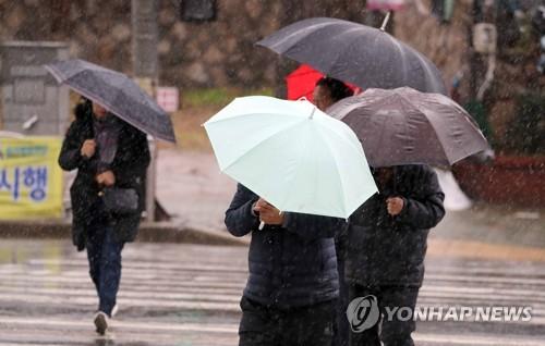 [내일날씨] 출근길 전국 곳곳 눈·비 약간…오후부턴 '쌀쌀'