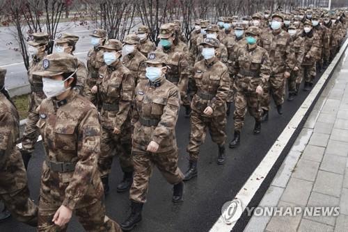 다급해진 시진핑, 우한에 군의료진 2600명 추가 투입 지시