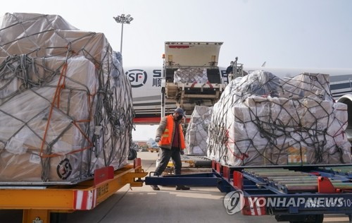 중국, 코로나19 여파로 의료용품 4천800억원 규모 수입