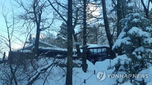 설악산·오대산·태백산국립공원 폭설로 탐방로 통제