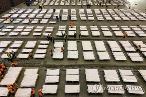 중국서 신종코로나 누적 사망 722명·확진 3만4546명