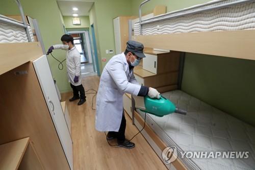 강원대병원, 강원대 유학생 대상 '코로나19' 검사