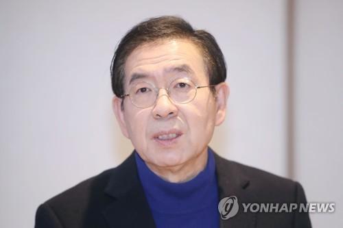 """신종코로나 피해 식당 홍보대사 자처한 박원순…""""안전 보장"""""""