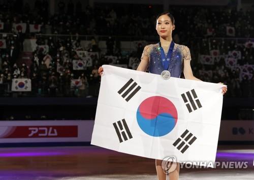 """4대륙 피겨 '은빛 쾌거' 유영 """"트리플 악셀 성공해서 후회 없어"""""""