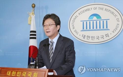 """유승민 """"한국당과 신설합당 추진…개혁보수 위해 불출마"""""""