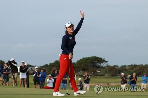 '우승' 박희영, 여자골프 세계랭킹 96계단 '수직상승'…95위