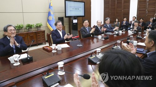 문대통령, 20일 봉준호 청와대 초청…아카데미 4관왕 축하·격려