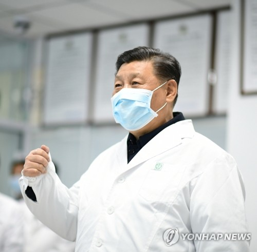 """북한, 시진핑 코로나 현장방문 """"방어 구축""""…일본엔 '방역 급급'"""