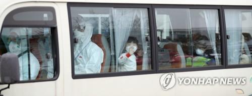 3차 우한교민 태운 버스 운전에 1·2차 때 경찰관 5명 재지원