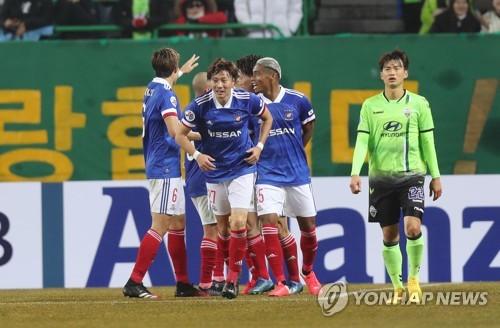 전북 'J리그 챔프' 요코하마에 1-2로 무릎…조규성 만회골