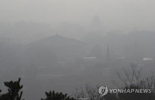 내일 수도권·강원 영서·충청 미세먼지…모레까지 대기 정체