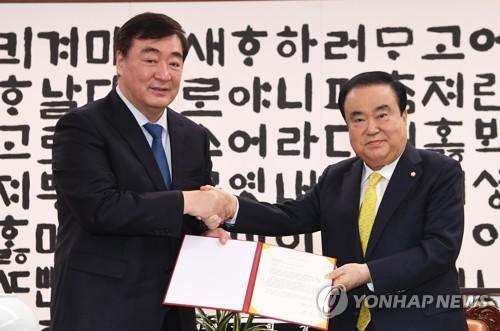 """싱하이밍 """"신종코로나에 엄격 조치…한국 물심양면 지원에 감사"""""""