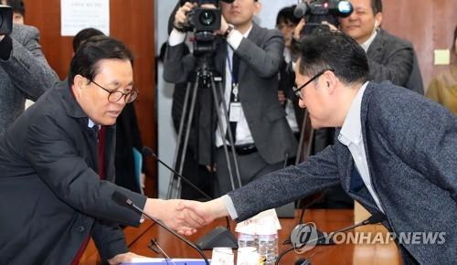 """여야 """"선거구 획정, 3월5일 본회의서 마무리짓기로""""(종합)"""