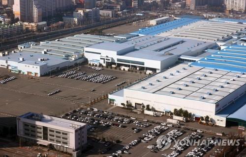 기아차 광주공장 19일까지 봉고트럭 생산 중단