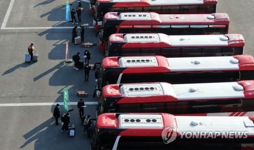 '2주간 아산서 임시 격리' 우한 교민·체류자 193명 퇴소