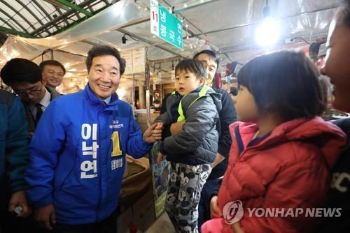 이낙연, 종로 교회 돌며 주민 접촉…SNS 홍보전도 본격화(종합)
