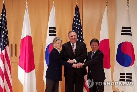 뮌헨서 한미일 외교장관, 북핵 문제 공조 방안 논의