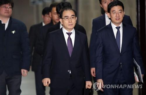 """태영호, 가명 '태구민'으로 출마…""""북한 주민 구하겠다는 의미""""(종합)"""