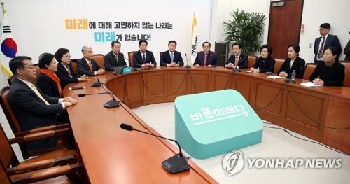 '껍데기'만 남은 바른미래…국민의당은 '천군만마'